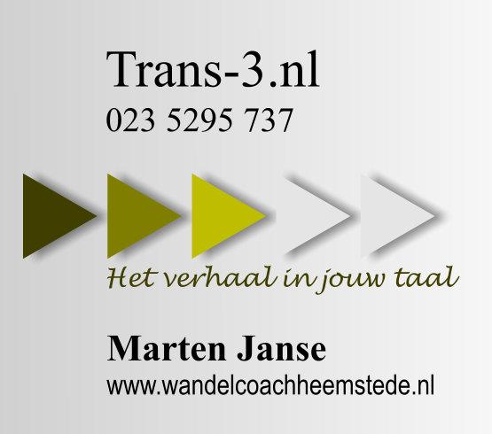 Trans-3.nl | Wandelcoaching