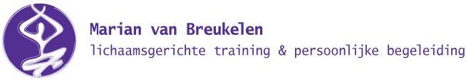 Marian van Breukelen lichaamsgericht trainer en persoonlijk begeleider