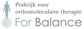 For Balance | praktijk voor orthomoleculaire therapie